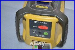Topcon RL-H4C Self-Leveling Slope Rotary Laser Level with Receiver