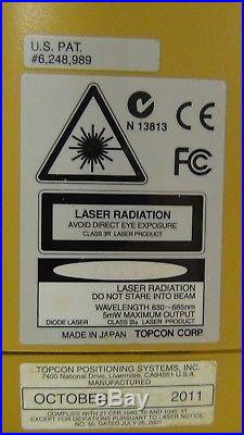 Topcon RL-H4C Self-leveling Rotary Laser