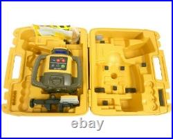 Topcon RL-H5A Rotary Laser & Receiver With Hard Carrying Case BRAND NEW
