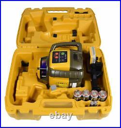Topcon RL-H5A Self-Leveling Rotary Grade Laser, 1030652-01 Topcon Tripod