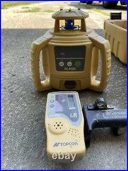 Topcon RL-H5B Self-Leveling Rotary Grade Laser Level