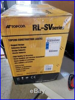 Topcon RL-SV2S Dual Slope Self-Leveling Rotary Laser Level Alkaline DB Model