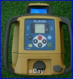 Topcon RL-SV2S RLSV2S Dual Slope Self Levelling Rotary Grade Laser Level