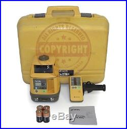 Topcon Rl-h1sa Slope Self-leveling Laser Level, Spectra Precision, Trimble, Grade