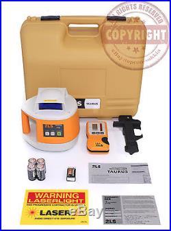 Topcon Rl-h3d Taurus Self-leveling Rotary Laser Level, Transit, Spectra, Rl-h3c
