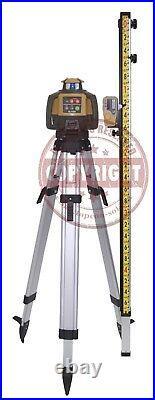 Topcon Rl-h5a Self-leveling Rotary Slope Laser Level Lenker Package, Grade, Grt