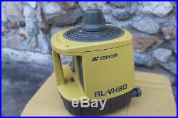 Topcon Rl-vh3d Self Leveling Rotary Laser Level