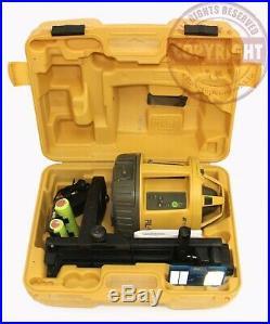 Topcon Rl-vh4g Green Beam Self Leveling Rotary Laser Level, Spectra, Hilti