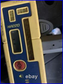 (used)Spectra GL422N Dual Grade Laser with Vertical Alignment Self-leveling